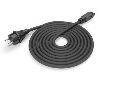 Aansluitkabel Hirschmann 2,5 meter zwart
